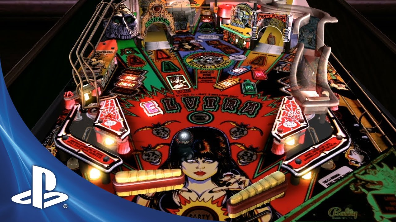 Party with Elvira in The Pinball Arcade Tomorrow