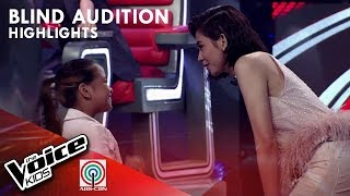 Angela, pinili na mapasama sa Team Sarah | The Voice Kids Philippines 2019