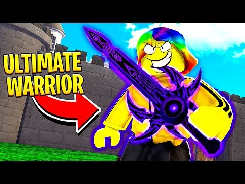 I became the STRONGEST WARRIOR in the WORLD.. (Roblox)