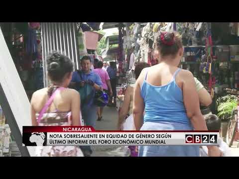 Nicaragua obtiene nota sobresaliente en equidad de género según el Foro Económico Mundial