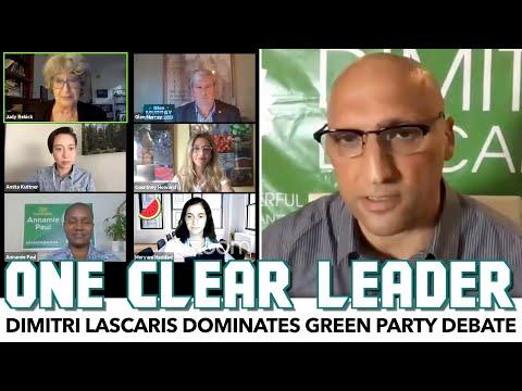 Dimitri Lascaris Dominates Green Party Debate