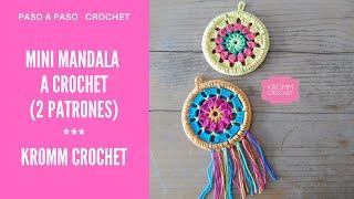 Cómo Tejer Un Mini Mandala A Crochet?