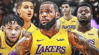 LeBron James On The Lakers Debut Parody   Lonzo Ball, Lance Stephenson, JR Smith, JaVale McGee
