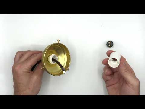 Comment assembler une lampe avec des ballons en cristal avec cou