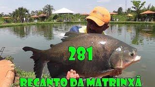 Programa Fishingtur na Tv 281 - Clube de Pesca Recanto da Matrinxã