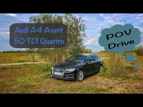 Audi A4 Avant 50 TDI Quattro | POV Drive by Ubitestet