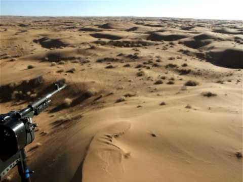 Flying over the Registan Desert
