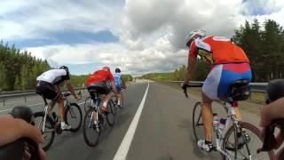 Любительский велоспорт на шоссе в Самаре. Тренировка молодежи и ветеранов велоспорта на шоссе.