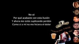 Destrozaste Mi Alma (Letra) - Kaleth Morales  (Video)