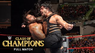 FULL MATCH: Rusev vs. Roman Reigns – U.S. Title Match: WWE Clash of Champions 2016
