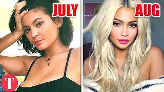 20 Times The Kardashian/Jenners Completely Changed Their Look