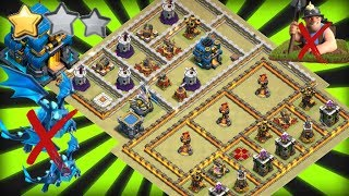 Exclusive TH12 War Base 2019 3 Replays Anti 2 Star Anti E-Dragon Anti Max Miner Anti Everything