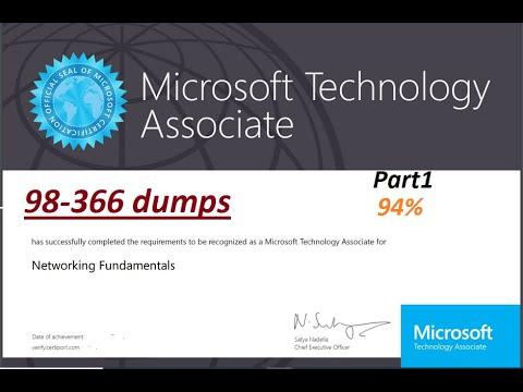 MTA Exam 98-366 Networking Fundamentals |real exam| Dumps ...