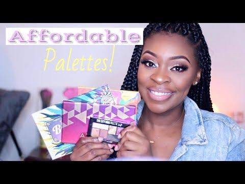 Best Affordable Eyeshadow Palettes | Krystal Nykole