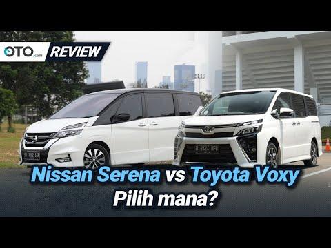 Nissan Serena vs Toyota Voxy | Review | Pilih Yang Mana? | OTO.com