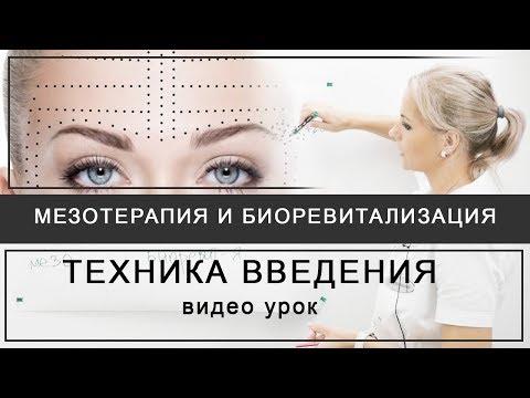 Мезотерапия и биоревитализация - техника введения препаратов