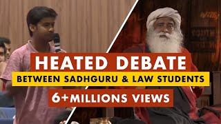 Sadhguru Owns The Provoked Law Students Who Try To Belittle His Work And Isha | Mystics of India