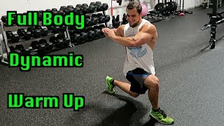 Full Body 5 Minute Dynamic Warm Up for Intense Workouts by Anabolic Aliens
