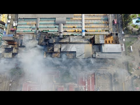 Las Malvinas: incendio causa altísimo nivel de contaminación en Lima