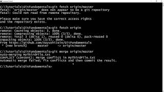 Git Fundamentals - Chapter 12 - How to fetch from remote repository?