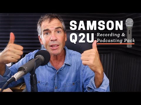 Podcasting Microphone Review: Samson Q2U Recording Pack