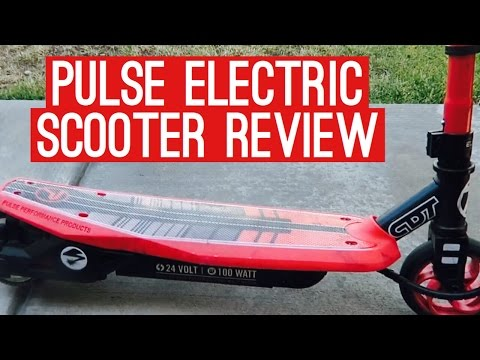 PULSE ELECTRIC SCOOTER REVIEW