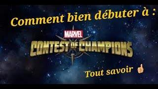 Marvel tournoi des champions - comment bien débuter