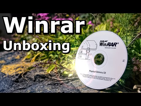 WinRar Unboxing