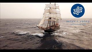 Jannik Weigelt auf der Roald Amundsen