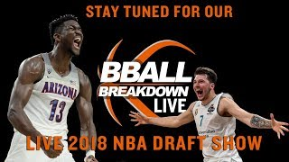 2018 NBA DRAFT LIVE SHOW