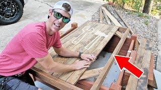 First BIG Mistake in Wood Building - Always Measure TWICE!