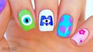 Disneys Monsters Inc Nails