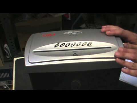 Características y uso de las destructoras de papel