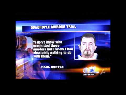 CBS 11 Clip from McKinney Murder Trial Featuring Richard Franklin