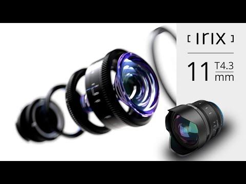 Irix Cine 11mm T4.3 lens - key features