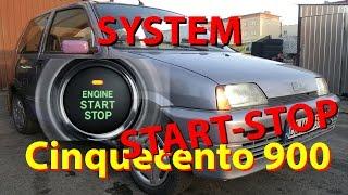 SYSTEM START-STOP UKRYTA FUNKCJA W FIACIE CINQUECENTO 900 Z 1995 ROKU