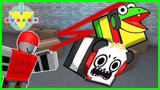 VTubers Combo Panda Vs. Gus BEST HIDING EVER Let's Play Roblox Blox Hunt