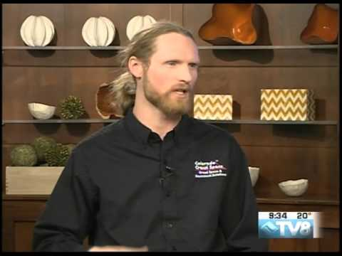Harrison, Colorado Crawl Space's General Manager, appeared on Good Morning Vail to talk about the importance of getting your crawl space encapsulated. Since the crawl space lets warm air in during the summer and cold air in during the winter, it is helpful to have it sealed and encapsulated to control moisture and prevent mold.