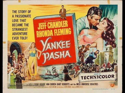 Película de AVENTURAS: Yankee Pasha 1954. Castellano