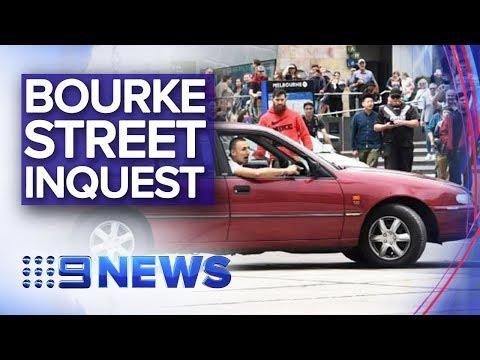 Bourke Street rampage inquest gets underway | Nine News Australia
