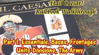 Hail Caesar! Walkthrough Part 1 Basics and The Army