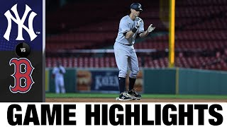 Sánchez, LeMahieu produce clutch hits in comeback win | Yankees-Red Sox Game Highlights 9/18/20