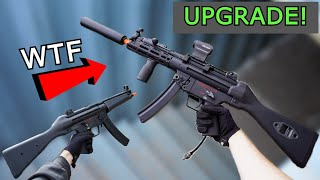Building The CRAZIEST MP5 EVER! Teching & Shooting Test! *Insane $1,000+ Airsoft Gun*
