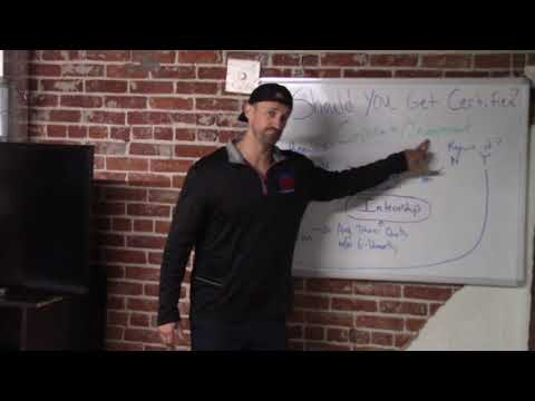 Should you get a personal training certification | Show Up Fitness ...