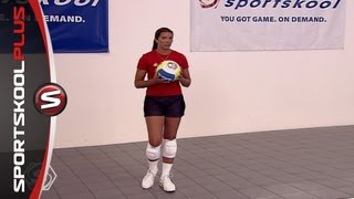 How to Improve Your Volleyball Serving with Olympic Gold Medalist Misty May