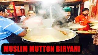 100 Biryanis sold in 10 mins | Muslim Mutton Biryani | Hotel Subhani Guntur