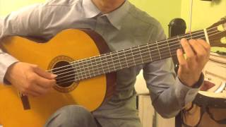 Classical Guitar Piece; Love Story