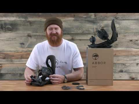 2017 Arbor Cypress Snowboard Binding – Review – The-House.com