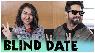 Click here to see the trailer of Andhadhun - https://www.youtube.com/watch?v=2iVYI99VGaw Click here to Subscribe :- http://bit.ly/PrajaktaKoli So I went on a blind date with Akash and this is how it went! A big shoutout to Ayushmann for being part of this video. Be sure to check out Andhadhun releasing on 5th October.   Link To My Blog - https://mostlysane.in Like me on Facebook @ https://www.facebook.com/MostlySaneOfficial Follow me on Twitter @ https://twitter.com/iamMostlySane  Follow me on Instagram @ https://instagram.com/MostlySane  Email me at :- iammostlysane@gmail.com   For official MostlySane merchandise, visit: http://www.redwolf.in/MostlySane  Digitally Powered by One Digital Entertainment [https://www.facebook.com/onedigitalentertainment] [http://www.onedigitalentertainment.com]  You can write to me and send me letters here -  407-411 Standford Plaza, Off Lokhandwala Link Road, Next to Orritel Hotel, Andheri West, Mumbai, Maharashtra 400053