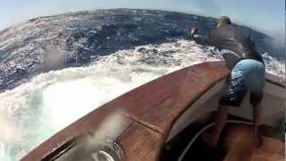 Jumpin' black marlin vS Fin-Nor Santiago [VIDEO]